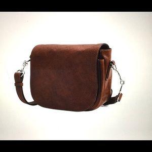 Flotilla Roma Leather Saddle bag